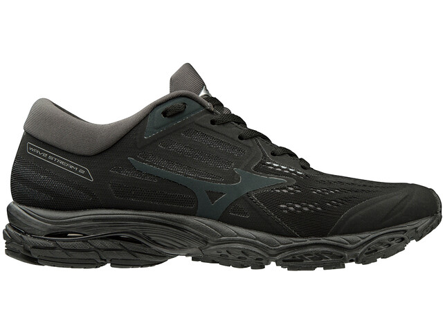 Mizuno Wave Stream 2 Buty Kobiety, black/jet set/dark shadow
